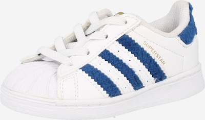 ADIDAS ORIGINALS Sneaker 'SUPERSTAR EL I' in blau / weiß, Produktansicht