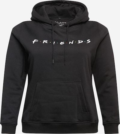 Mister Tee Curvy Sweatshirt in de kleur Gemengde kleuren / Zwart / Wit, Productweergave