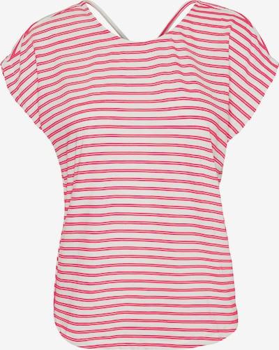 VERO MODA T-Shirt 'Alona' in pitaya / weiß, Produktansicht