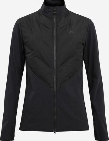 J.Lindeberg Athletic Jacket in Black
