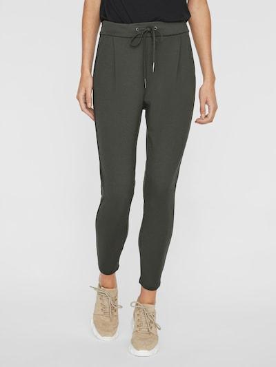Pantaloni con pieghe VERO MODA di colore nero, Visualizzazione modelli