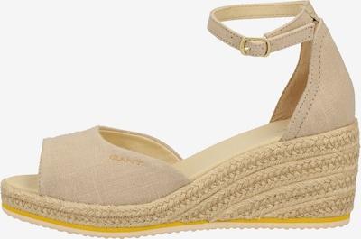 GANT Sandalen in beige, Produktansicht
