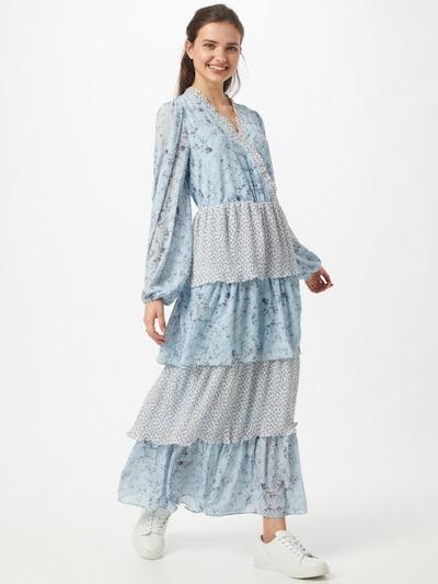 Love Copenhagen Kleid 'Fyma' in hellblau / grün / dunkellila / weiß, Modelansicht