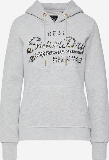 Superdry Sweatshirt  'VINTAGE LOGO ANIMAL EMBOSS INFILL ENTRY' in grau, Produktansicht