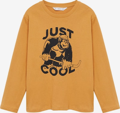 MANGO KIDS T-Shirt 'SPENCER' en jaune / noir, Vue avec produit