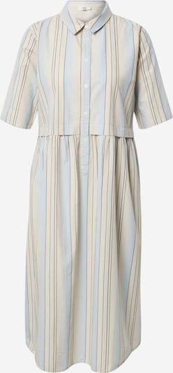 Noa Noa Kleid in beige / rauchblau / braun / offwhite, Produktansicht