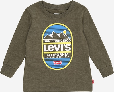 LEVI'S Shirt in himmelblau / hellgelb / oliv / hellrot / weiß, Produktansicht