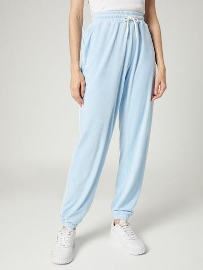 VIERVIER Hose 'Rieke' in hellblau, Modelansicht