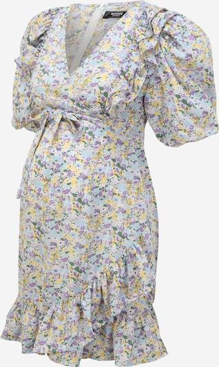 Missguided Maternity Robe en bleu clair / jaune clair / vert / violet / lilas, Vue avec produit