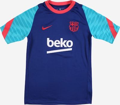 NIKE Sportshirt 'FC Barcelona Strike' in türkis / royalblau / grenadine / weiß, Produktansicht