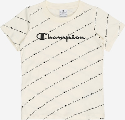 Champion Authentic Athletic Apparel Shirt in schwarz / offwhite, Produktansicht