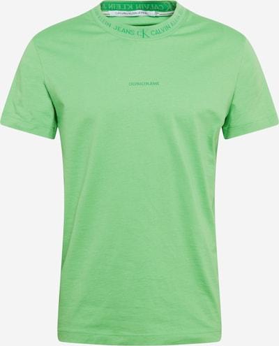 Calvin Klein Jeans Тениска в светлозелено, Преглед на продукта