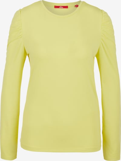 s.Oliver Shirt in yellow, Item view