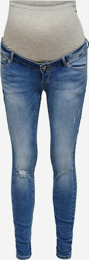 Only Maternity Jeans 'Paola' in blue denim / grau, Produktansicht