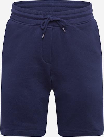 By Garment Makers Pantalon 'Ebbe' en bleu marine, Vue avec produit