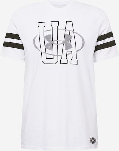 UNDER ARMOUR Sportshirt in schwarz / weiß, Produktansicht