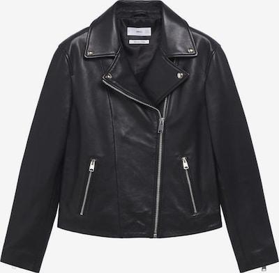 MANGO Lederjacke 'Perfect' in schwarz, Produktansicht