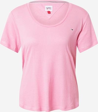Tommy Jeans Koszulka w kolorze granatowy / jasnoróżowy / czerwony / białym, Podgląd produktu