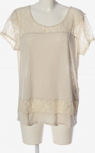 Oasis Kurzarm-Bluse in L in creme, Produktansicht