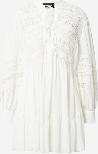 The Kooples Robe en blanc, Vue avec produit