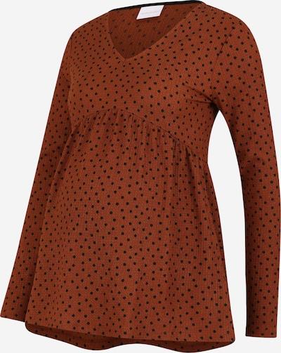 MAMALICIOUS Tričko 'Nille' - hnědá / černá, Produkt
