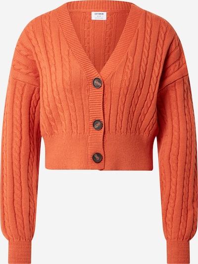 Cotton On Strickjacke in orange, Produktansicht