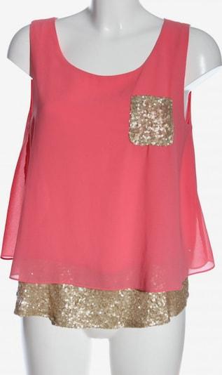 Suncoo ärmellose Bluse in S in gold / pink, Produktansicht