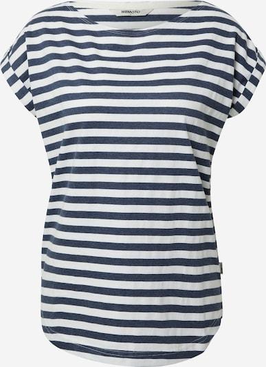 Wemoto Shirt 'BELL' in navy / weiß, Produktansicht