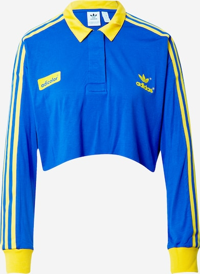 ADIDAS ORIGINALS Shirt in blau / gelb, Produktansicht