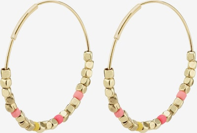 Pilgrim Earrings 'Romina' in Gold / Pink, Item view