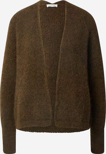 AMERICAN VINTAGE Gebreid vest 'East' in de kleur Kaki, Productweergave