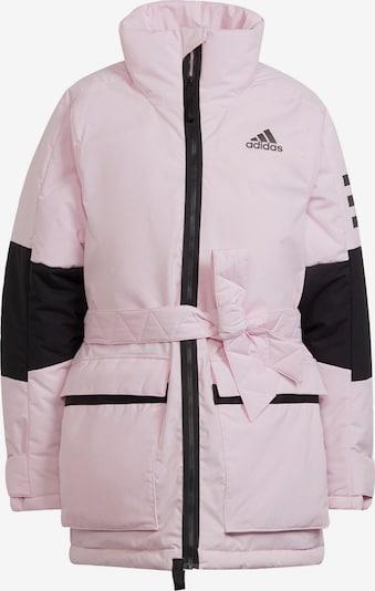 ADIDAS PERFORMANCE Daunenjacke 'Utilitas' in pink / schwarz, Produktansicht