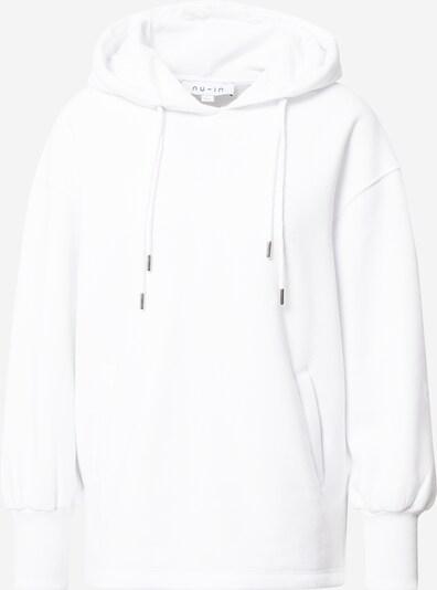 NU-IN Sweat-shirt en blanc, Vue avec produit