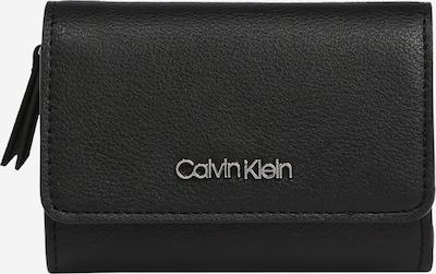 Calvin Klein Porte-monnaies 'TRIFOLD' en noir, Vue avec produit