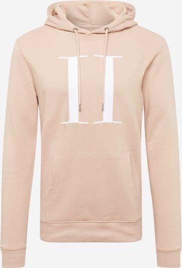 Les Deux Sweat-shirt en rose / blanc, Vue avec produit