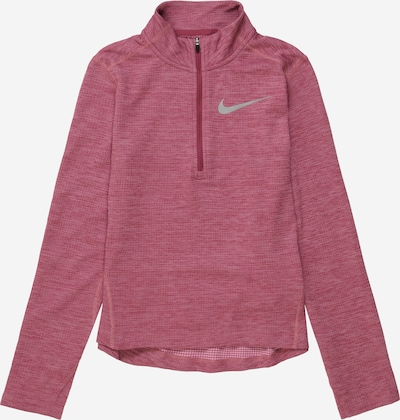 NIKE Sports sweatshirt in pink / silver, Item view
