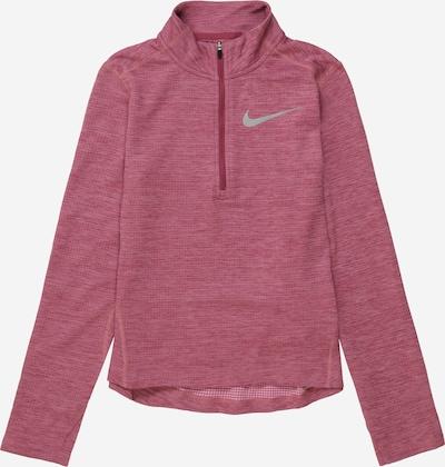NIKE Sportief sweatshirt in de kleur Rosa / Zilver, Productweergave