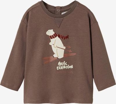 Tricou 'ARTIC' MANGO KIDS pe maro / roşu închis / alb, Vizualizare produs