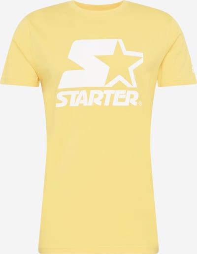 Maglietta Starter Black Label di colore giallo / bianco, Visualizzazione prodotti