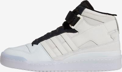 ADIDAS ORIGINALS Sneaker 'Forum Mid' in beige / schwarz / weiß, Produktansicht