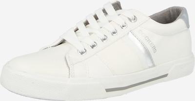 ezüst / fehér Dockers by Gerli Rövid szárú edzőcipők, Termék nézet
