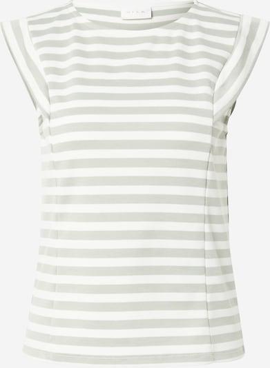VILA Shirt 'TINNY' in pastellgrün / weiß, Produktansicht