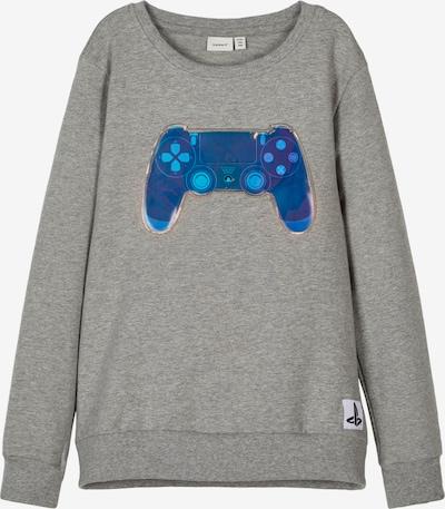 NAME IT Sportisks džemperis zils / tirkīza / raibi pelēks, Preces skats