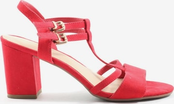 Graceland Sandals & High-Heeled Sandals in 38 in Red