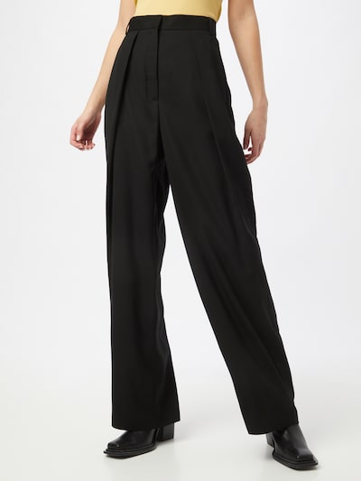 The Kooples Pleat-front trousers in Black, View model