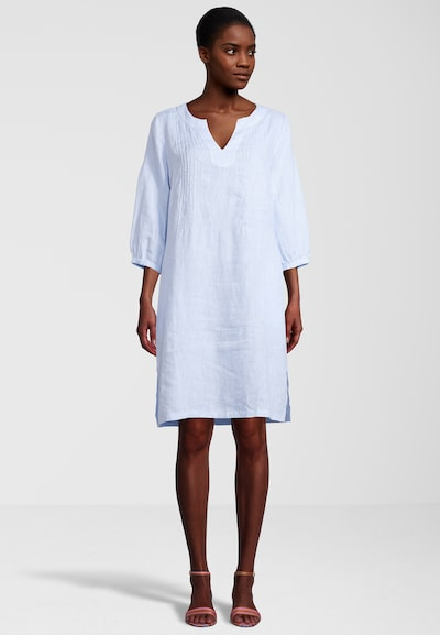 PRINCESS GOES HOLLYWOOD Tunikakleid mit Nahttaschen in blau, Modelansicht