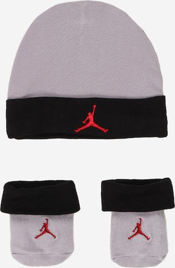 Jordan Gorra en gris / rojo / negro, Vista del producto