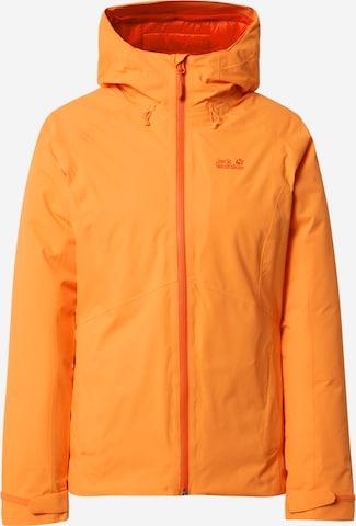 JACK WOLFSKIN Vabaajajope 'Argon Storm', värv oranž