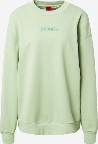 HUGO Sweatshirt 'Dashimara_1' in Green