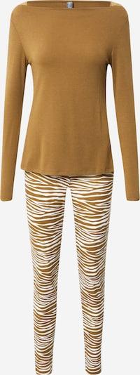 LingaDore Pyjama in creme / brokat, Produktansicht